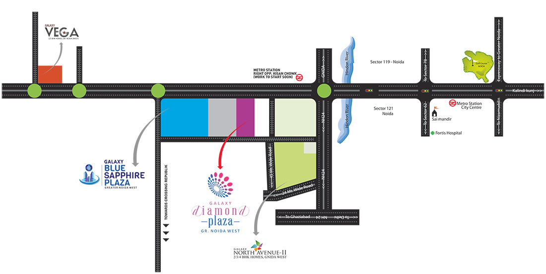 galaxy diamond plaza site map